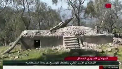 Photo of الجولان السوري المحتل-الاحتلال الإسرائيلي يخطط لتوسيع جريمته الاستيطانية(تقرير السورية)