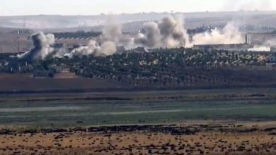 Photo of Turkish occupation targets Afrin and Azaz with more than sixty shells
