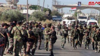 Photo of الجيش يبدأ تمشيط قرى نصيب وأم المياذن والطيبة بريف درعا