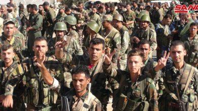 Photo of الجيش يبدأ عمليات التمشيط في مدينة جاسم بريف درعا