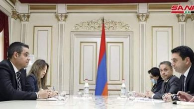 Photo of Syria and Armenia discuss boosting bilateral relations