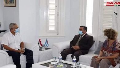 Photo of Syria, Cuba discuss prospects to open new horizons for trade cooperation
