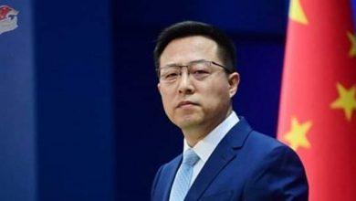 Photo of China urges Washington to adopt a rational policy