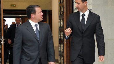 Photo of العاهل الأردني تلقّى اتصالاً من الرئيس الأسد