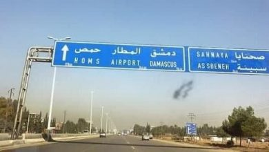 Photo of إصابة 10 أشخاص جراء تدهور فان على طريق حمص دمشق