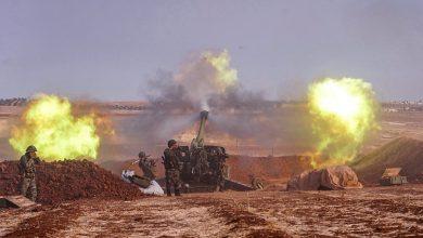 Photo of هذا الصباح.. الجيش يقصف مواقع إرهابية بـ إدلب