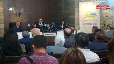 Photo of وزير الإقتصاد يُبشر.. «فرص الاستثمارات» في سوريا كبيرة وواعدة
