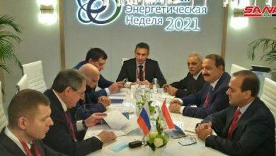 Photo of مباحثات «سورية – روسية» حول التعاون في مجال الطاقة